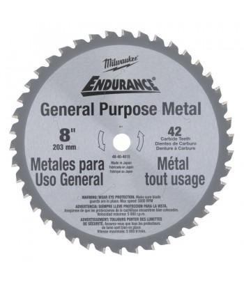 Diskas metalui 203x15,87x42z